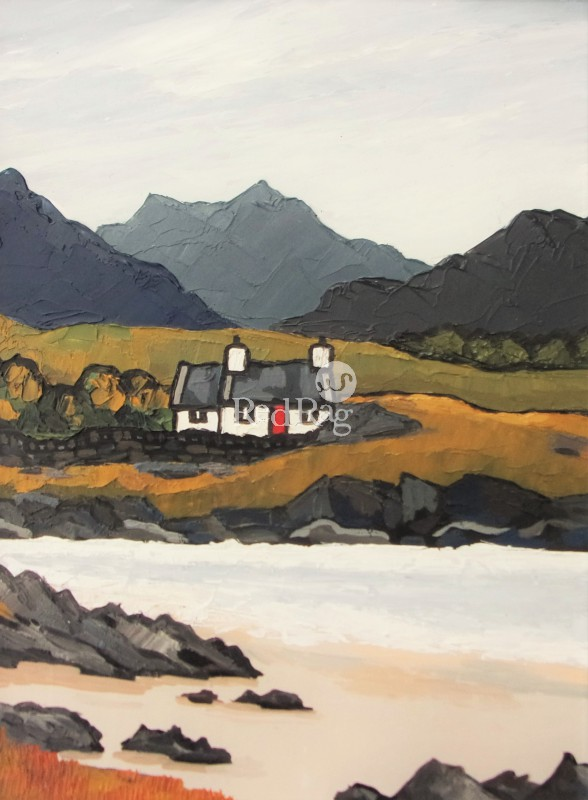David BARNES - Croft by the Loch