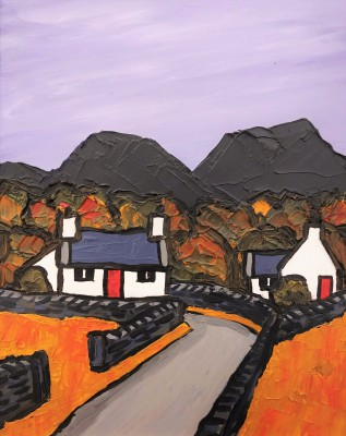 David BARNES - Road into the Hills