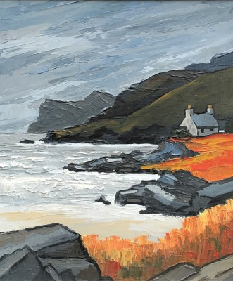 Modern Artist David BARNES - The Scottish West