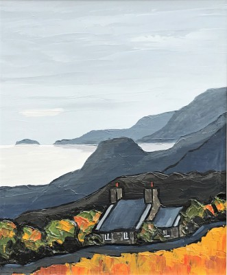 Modern Artist David BARNES - The Lleyn Coast