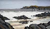 David BARNES - Rough Seas off Aberffraw