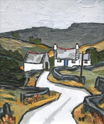 David BARNES - Cottage near Arenig