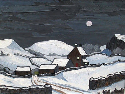 David BARNES - Clwydian Farm in Winter