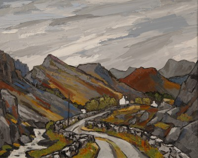 David BARNES, contemporary artist&nbsp;-&nbsp;<span style='color:red;font-size: 200%'>&#8226;</span> Above Llanberis