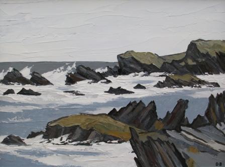 David BARNES - Near Rhoscolyn