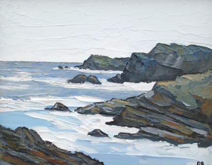 David BARNES - Off the West Coast of Anglesey
