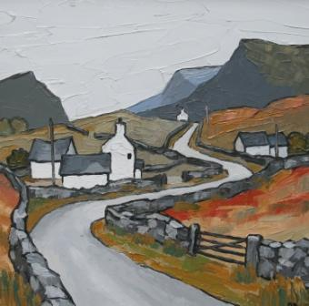 David BARNES - Road through the Hills