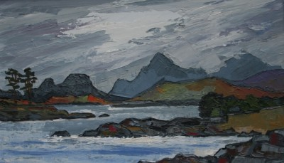 David BARNES - Loch in Sutherland