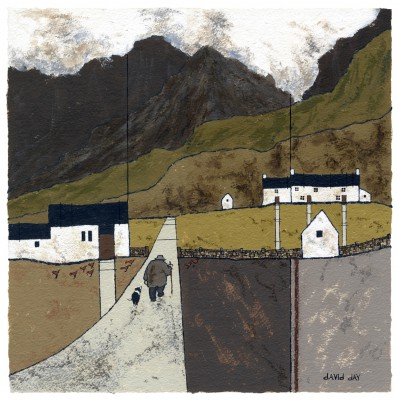 Modern Artist David DAY - Llanberis II