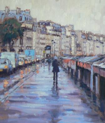 David FARREN - Early Morning Rain, Paris