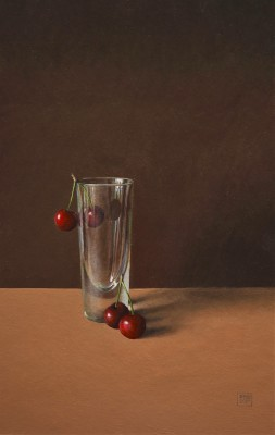 Modern Artist David GLEESON - Glass, Cherries