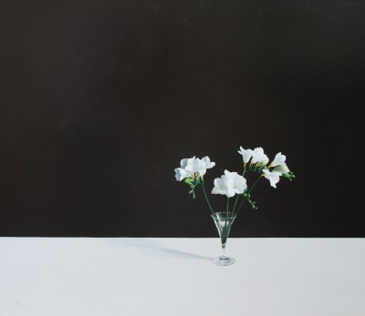 Modern Artist David GLEESON - Freesias