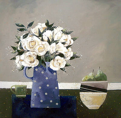 Dionne SIEVEWRIGHT - White Roses