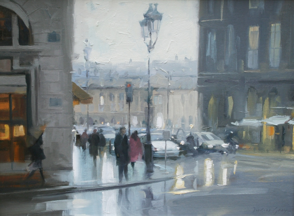 Douglas Gray Paintings Douglas Gray Rainy Day