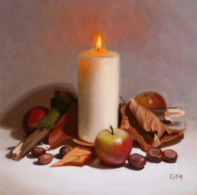 Autumn Study painting by artist Gary MORROW