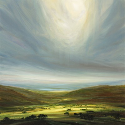 Modern Artist Harry BRIOCHE - Heavenly Light