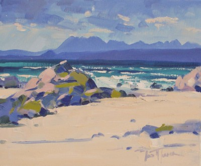 Modern Artist Helen TURNER - The Cuillin Ridge