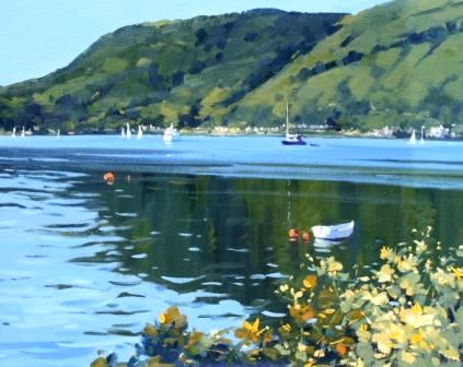 Helen M TURNER - Summer Sunshine, Holy Loch