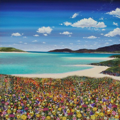Hope BLAMIRE - Light Breeze, Luskentyre on Harris