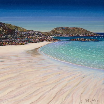 Summer Tide, Achmelvich painting by artist Hope BLAMIRE