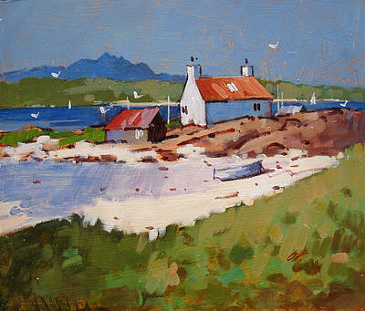 Modern Artist James ORR - Towards the Cuillins