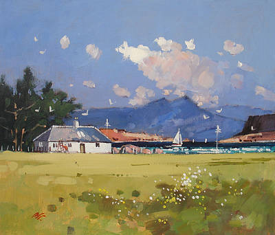 Modern Artist James ORR - Summer Portuairk