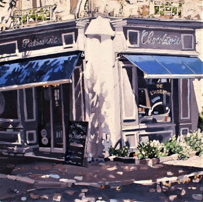 Jennifer IRVINE, contemporary artist - Chocolaterie, Patisserie, Chinon