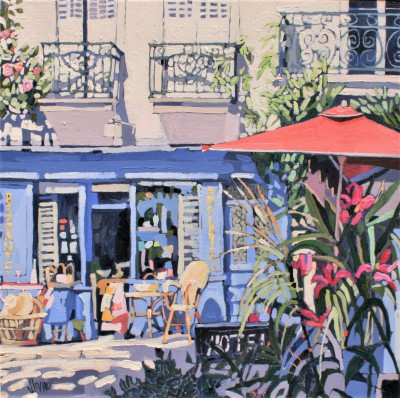 Jennifer IRVINE, contemporary artist - Hotel Chinon