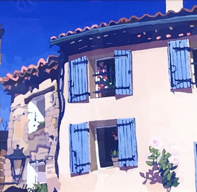 Jennifer IRVINE, contemporary artist - Chateaudouble, Provence