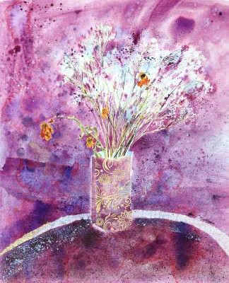 Modern Artist Jenny MATTHEWS - The Colour Purple