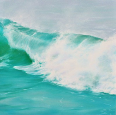 Jo BEMIS, contemporary artist - Turquoise Water