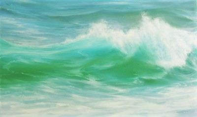Hint of Turquoise painting by artist Jo BEMIS