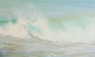 'Turquoise Blues' painting