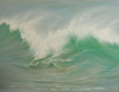 Modern Artist Jo BEMIS - Atlantic Spray