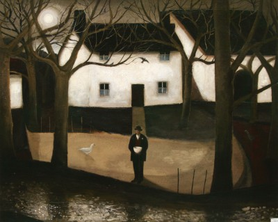 John CAPLE - Twilight Orchard, Somerset