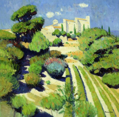John KINGSLEY - Vineyards, Le Castellet