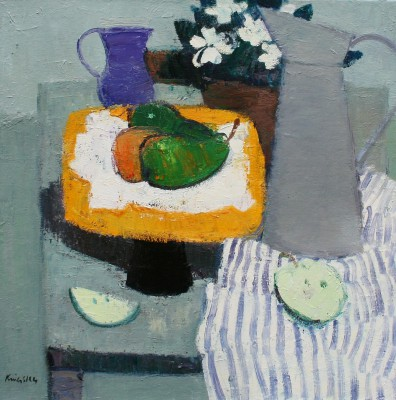 John KINGSLEY PAI RSW  - Still Life with Pears