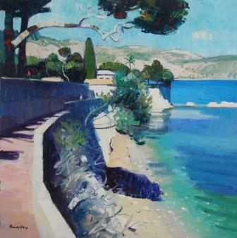 John KINGSLEY - Coastal Path, Cap Ferrat