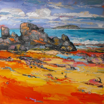 Judith BRIDGLAND - Low Tide, North Berwick