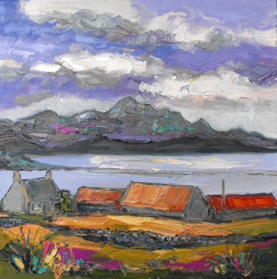 Judith BRIDGLAND - Farm at Talmine, Sutherland