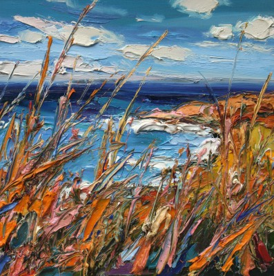 Judith BRIDGLAND - Grasses near Yellowcraig Beach