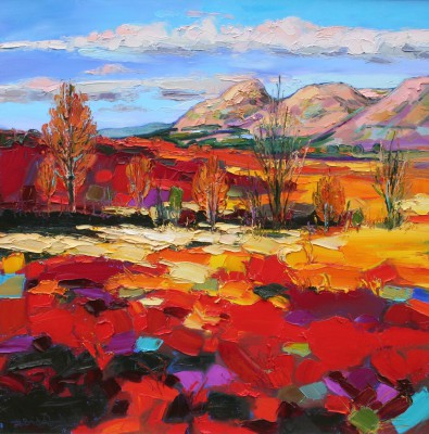 Judith BRIDGLAND - Autumn Colours, the Campsies