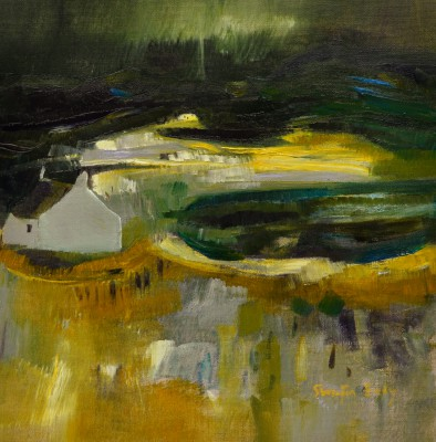 Night, Ardnamurchan painting by artist Katherine SWINFEN EADY