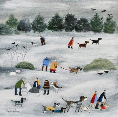 'Our Best Winter Coats' painting