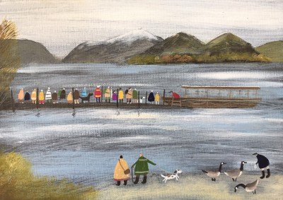 Modern Artist Louise RAWLINGS - We'll Get the Next Boat