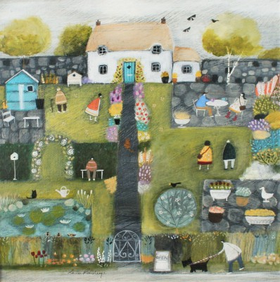 Modern Artist Louise RAWLINGS - Time for Open Gardens