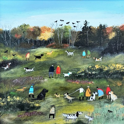 Modern Artist Louise RAWLINGS - The Arrival of Autumn