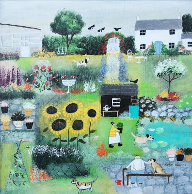 Modern Artist Louise RAWLINGS - Basil, Out Now