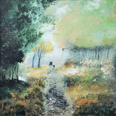 Modern Artist Louise RAWLINGS - Solitude