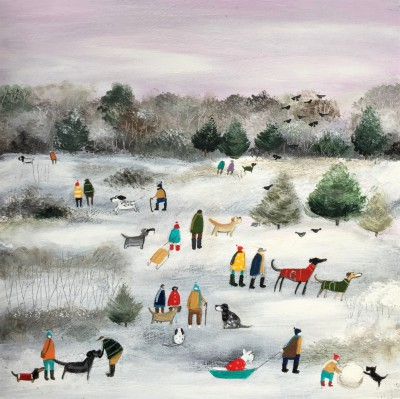 Modern Artist Louise RAWLINGS - Boxing Day Morning